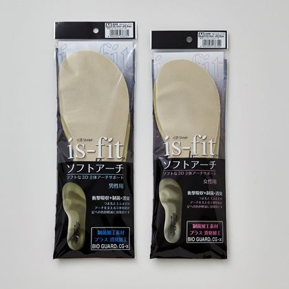is-fit ソフトアーチ 男性用L M098-6748
