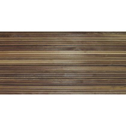 ワンウィル WOOD BRICK WALL PANEL【STRIPE】 金具あり(横) 444mm×894mm×22mm