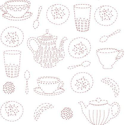 Scandinavian Pattern Collection フリース壁紙 Home Sweet Home 巾46cm×5M SPC-613